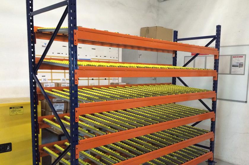 Picking din mico estanterias metalicas y sistemas de - Estanterias metalicas diseno ...